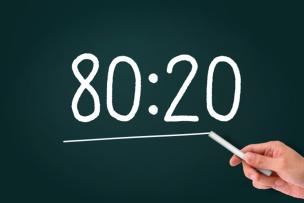20:80の法則と顧客戦略